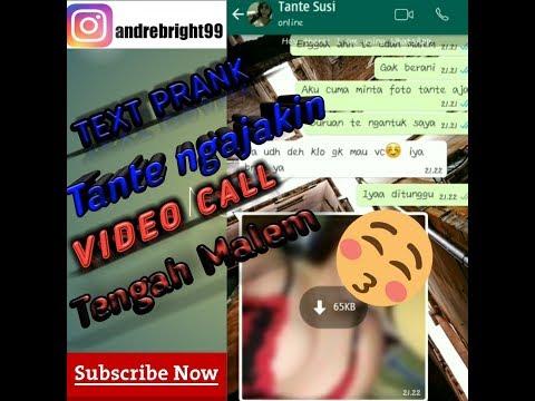 PRANK TANTE!!! MINTA PAP TT LANGSUNG NGAJAK VIDEO CALL