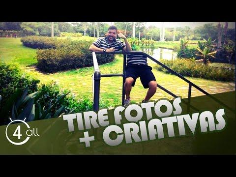 Como tirar fotos criativas pelo celular Android iOS