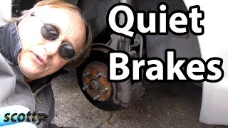 The Secret to Quiet Brakes in Your Car (Brake Pads and Rotors)