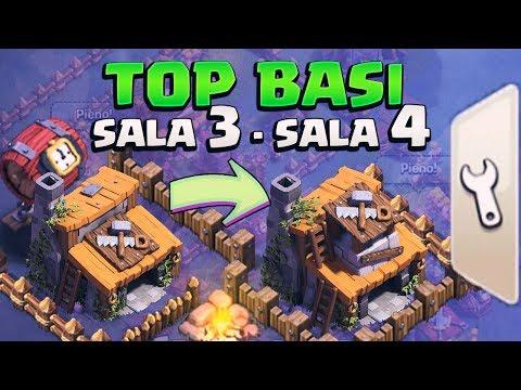 TOP BASI COSTRUTTORE LVL 3 E LVL 4! BH 3 e BH 4 Bases Clash of Clans
