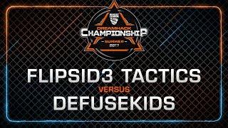 Flipsid3 Tactics vs Defusekids - Semi-Finals - Rocket League Championship - DreamHack Summer 2017