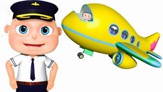 Five Little Babies Dressed As Pilots| Zool Babies Fun Songs | Five Little Babies Collection