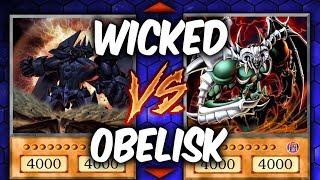 Yugioh WICKED GODS vs OBELISK (Yu-gi-oh God Card Deck Duel!)