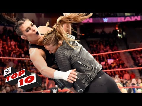 Xxx Mp4 Top 10 Raw Moments WWE Top 10 April 16 2018 3gp Sex