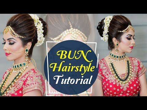 Xxx Mp4 BUN Hairstyle Tutorial Step By Step Indian Bridal Hairstyle Tutorial Video Krushhh By Konica 3gp Sex