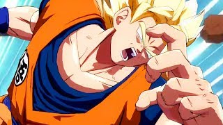 MY FIRST TIME PLAYING DRAGON BALL FIGHTERZ - Dragon Ball FighterZ Closed Beta Gameplay | Pungence