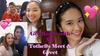 GRWM: TOTHE9S MEET AND GREET (Makeup, Outfit, Mini Vlog and Photos) | Philippines