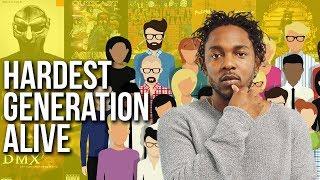 Kendrick Lamar's XXX. Reps For Entire Millennial Generation