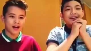 Banana Challenge - Darren Espanto & Jk Labajo