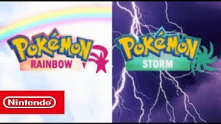 POKEMON RAINBOW & STORM ARE OFFICIALY COMING TO NINTENDO SWITCH