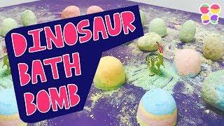 공룡알 입욕제 만들기 / DIY 베쓰밤 [코드쉐이크 아트 Codeshake Art] diy dinosaur bath bomb