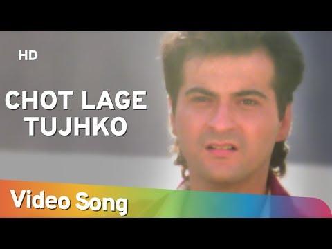 Chot Lage Tujhko - Raja Songs - Madhuri Dixit - Sanjay Kapoor - Udit Narayan - Alka Yagnik