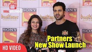 Divyanka Tripathi And Vivek Dahiya At Sab Tv's New Show Launch Partners | Trouble Ho Gayi Double