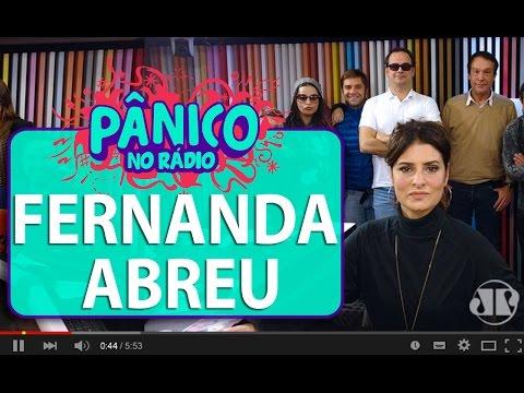 Fernanda Abreu Pânico 15 06 16