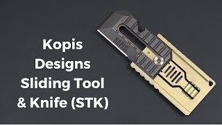 Innovation Meets Functionality | Gear Focus #10: Kopis Designs STK