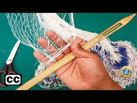 ►►Aprenda a MANTENER y REPARAR las mallas de su Red de Pesca