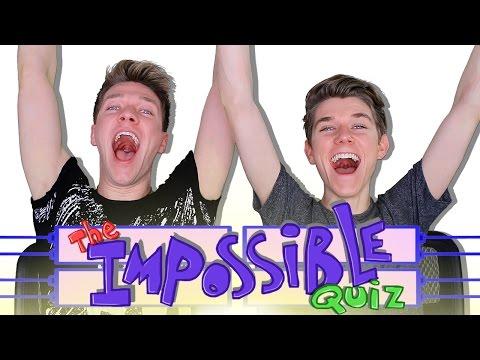 The IMPOSSIBLE QUIZ Challenge Fail Sibling Tag Collins Key vs Devan Key