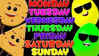 Days Of The Week | Nursery Rhymes | Kids Learning Videos | Children
