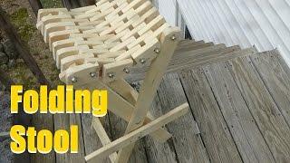 Neat Folding Stool
