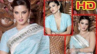 Sunny Leone In Saree   Sunny Leone's Latest Photo Shoot