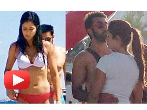 Katrina Kaif's Reaction On The Leaked Holiday Pictures - Ranbir Katrina Spain Holiday