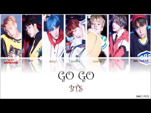 BTS  (방탄소년단) - GO GO  (고민보다 Go) LYRICS [KOR/ROM/ENG COLOR CODED]