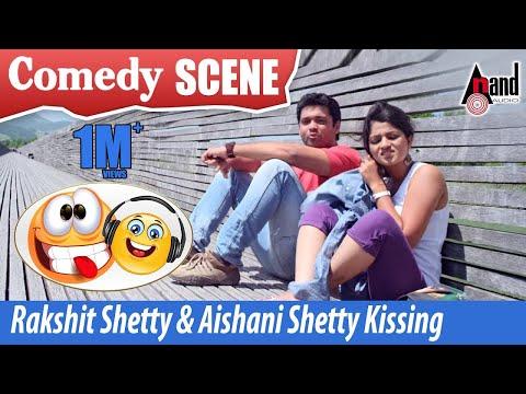 Vaastu Prakaara | Rakshit Shetty & Aishani Shetty - Kissing Comedy  Scenes