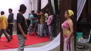Making of Manasi Naik's hot song