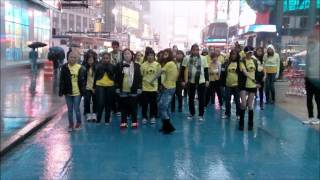 Kpop Flash Mob in NYC by I LOVE DANCE
