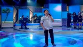 Irmãos na Fé - Leandro Vinícius - Grande Final Jovens Talentos Kids - Programa Raul Gil
