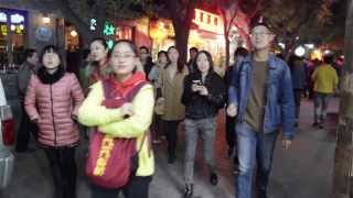 Walking in Beijing Old Town