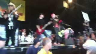 Blood On The Dance Floor & Jeffree Star - Sexting @ Vans Warped Tour 2012 (Camden)