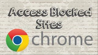 How to access blocked sites with Zenmate in Chrome with easy