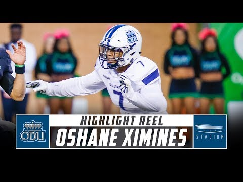 Xxx Mp4 Oshane Ximines Old Dominion Football Highlights 2018 Season Stadium 3gp Sex
