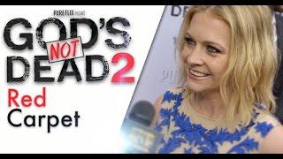 GOD'S NOT DEAD 2 Red Carpet, feat: Melissa Joan Hart & Jesse Metcalfe