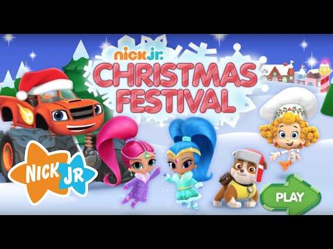 Christmas Festival NEW Nick JR Full HD Game Episode