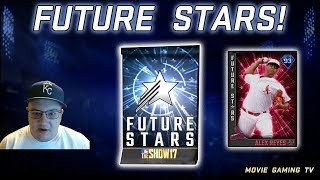 FUTURE STARS PACK OPENING! MLB THE SHOW 17 DIAMOND DYNASTY