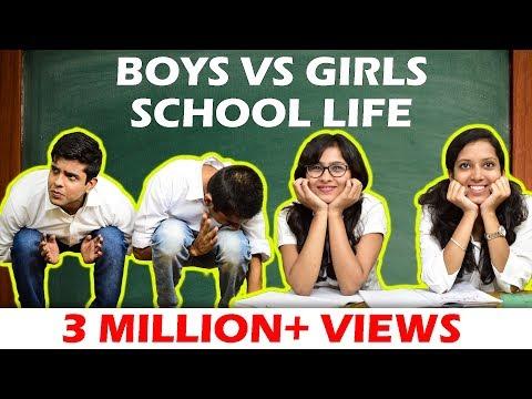 Xxx Mp4 BOYS Vs GIRLS In SCHOOL LIFE The Half Ticket Shows 3gp Sex