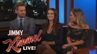 The Bachelor Nick Viall Awkwardly Reunites with Ex-Girlfriends Andi Dorfman and Kaitlyn Bristowe