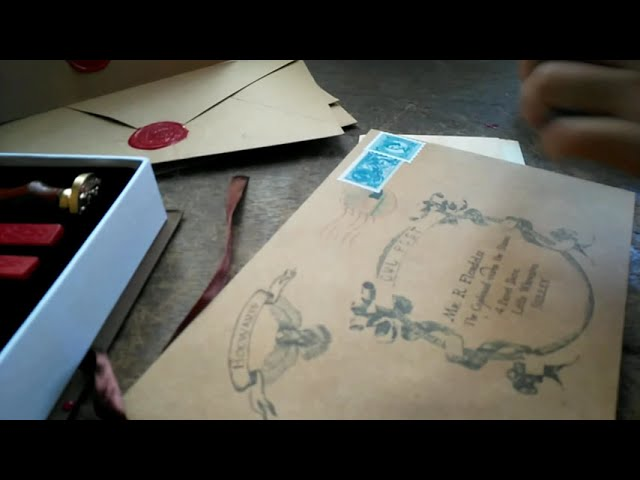 How to Create Perfect Wax Seal for Harry Potter Invitation