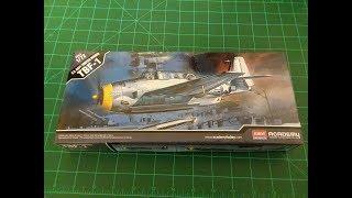 Academy 1:72 US Navy Torpedo Bomber Aircraft TBF-1 Plastic Model Review
