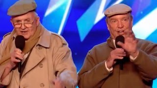 The Pensionaires bringing a touch of nostalgia to BGT | Audition 6 | Britain