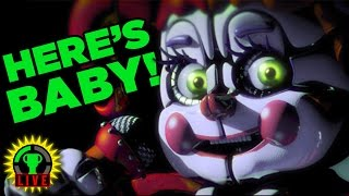 FNAF's BABY ATTACKS MARKIPLIER! | FNaF Sister Location?