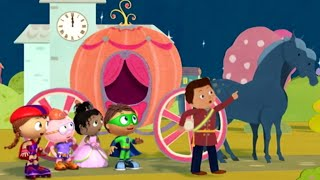 Super WHY! Full Episodes English | Cinderella: The Prince's Side of the Story | S01E48 (HD)