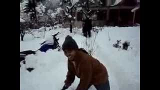 Shimla,Manali Snow Fall January.