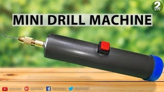 How to Make a High Speed Mini Drill Machine