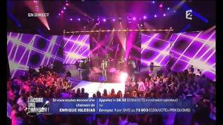 Enrique Iglesias - France 2 - Encore une chanson - Tired of being sorry