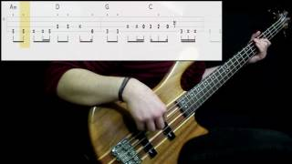 Red Hot Chili Peppers - Sick Love (Bass Cover) (Play Along Tabs In Video)