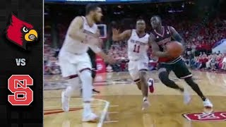 Louisville vs. NC State Basketball Highlights (2017-18)
