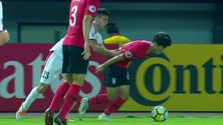 Jordan 1-3 Korea Republic (AFC U19 Indonesia 2018 : Group Stage)